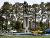 Martialisches Denkmal in Kerman
