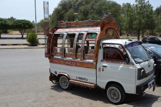 Minibus in Islamabad