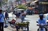 Auf den Straßen von Phnom Penh.