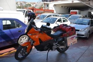 Fähre über den Bosporus