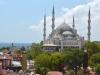 Blaue Moschee am Tag
